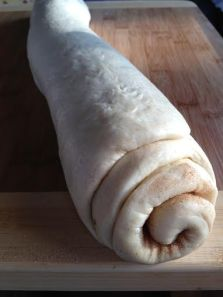"""Roll it up like a Jelly Roll or a """"Cinnamon Dough Log"""""""